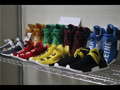 1b332d59f8892 Adidas X Pharrell Williams NMD Human Race Originals Trail AC7359 ...
