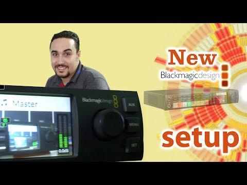 Blackmagic ATEM Television Studio HD  شرح توصيل ميكسر بلاك ماجيك