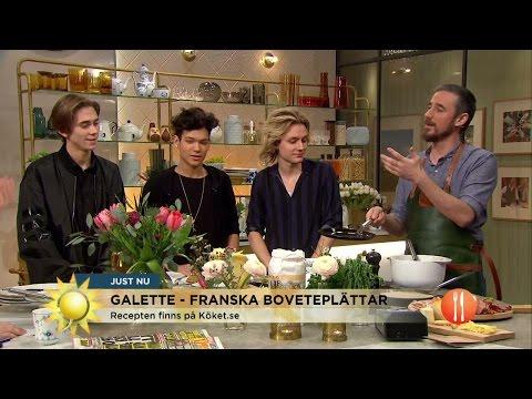Så lätt gör du franska galetter! - Nyhetsmorgon (TV4)