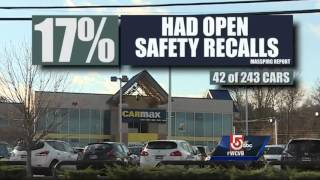5 Investigates: Used cars with open safety recalls for sale