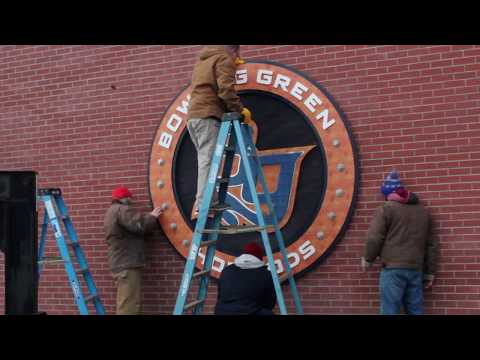 New Plaza Signs at Bowling Green Ballpark