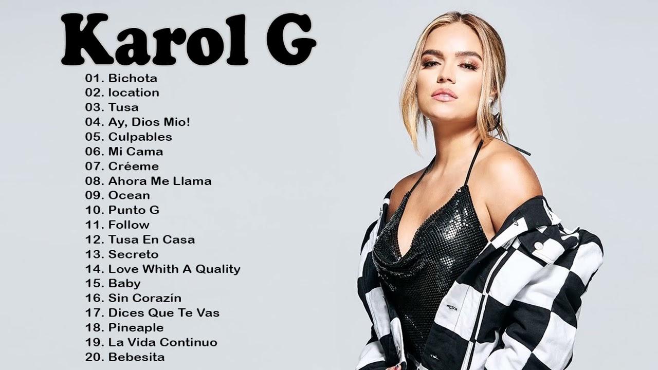 Karol G Mix Exitos 2021 - Karol G Album Completo 2021 - Lo Mas Nuevo