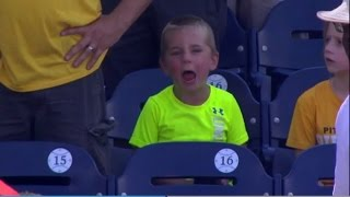 Hysterical Little Boy Shows Every Emotion While Watching MLB Game