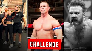 John Cena Got Challenge From WWE Legend Becky Lynch New Look Shamus Injured on Raw