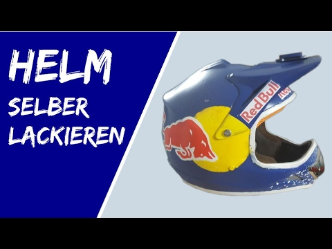red bull helm selber machen how to make a red bull helmet. Black Bedroom Furniture Sets. Home Design Ideas