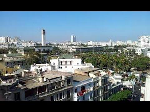 la ville de Casablanca, la plus grande ville dans le Maroc,