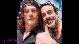 Bromance #2 Norman Reedus & Jeffrey Dean Morgan (but Andy is#1)