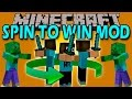 SPIN TO WIN MOD - Ataca a todos con 360 - Minecraft mod 1.11.2 Review ESPAÑOL