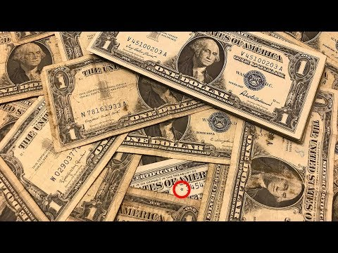 SEARCHING $100 OF SILVER CERTIFICATES - STAR NOTES & MORE FOUND!!!