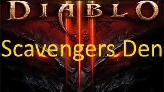 Diablo III -Scavengers Den-  XboxOne Gameplay