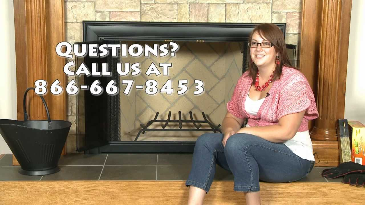 how to measure for a fireplace grate youtube