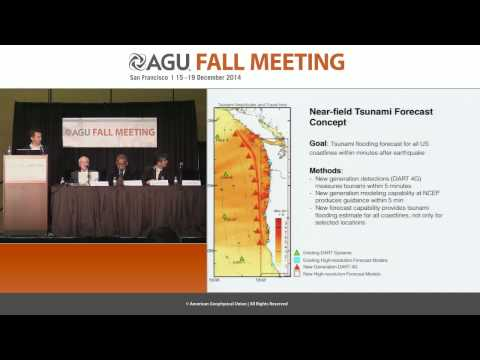 FM14 Advances in tsunami warning and forecasting since the 2004 Indian Ocean tsunami PressConference