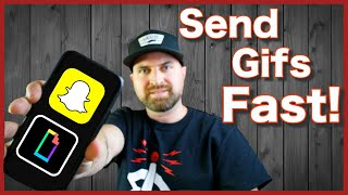Giphy Snapchat iPhone | Quick Tutorial