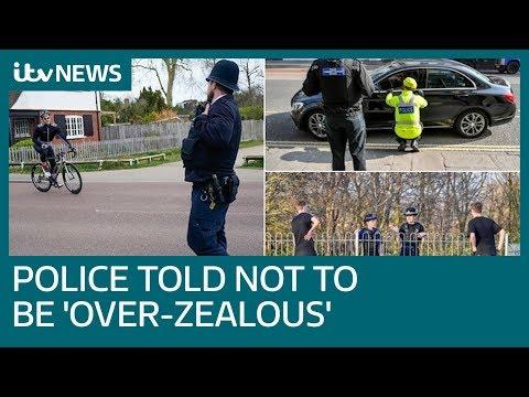UK police face