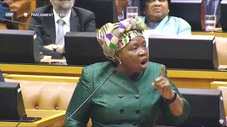 Comedy - Nkosazana Dlamini Zuma ordered out of Parliament