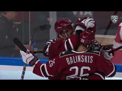 Ashton Wins It For Riga In OT Capitalising On Bespalov Fault