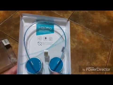 Наушники Rapoo Wireless Stereo Headset H3050 Blue