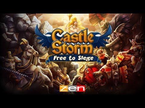 CastleStorm - Free to Siege - iOS / Android - HD (Sneak Peek) Gameplay Trailer