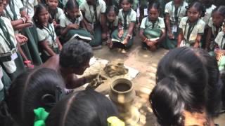 金丸文武 旅動画 No.115 インドの田舎の器作り