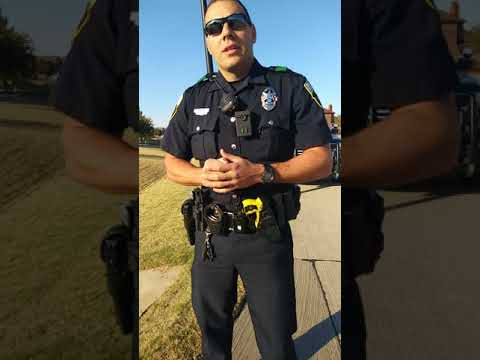 Cop harassed me while im taking a early walk pt.1