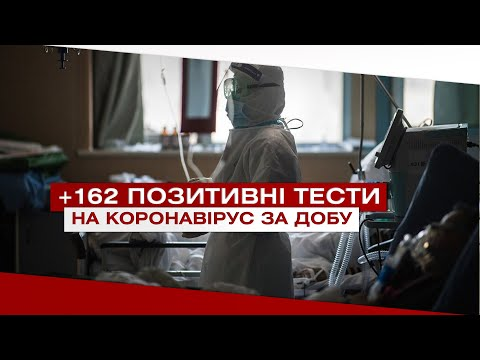 Телеканал ВІТА: За добу на Вінниччині підтвердились 162 ПЛР-тести