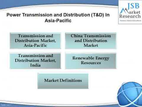 JSB Market Research - Power Transmission and Distribution (T&D) In Asia-Pacific