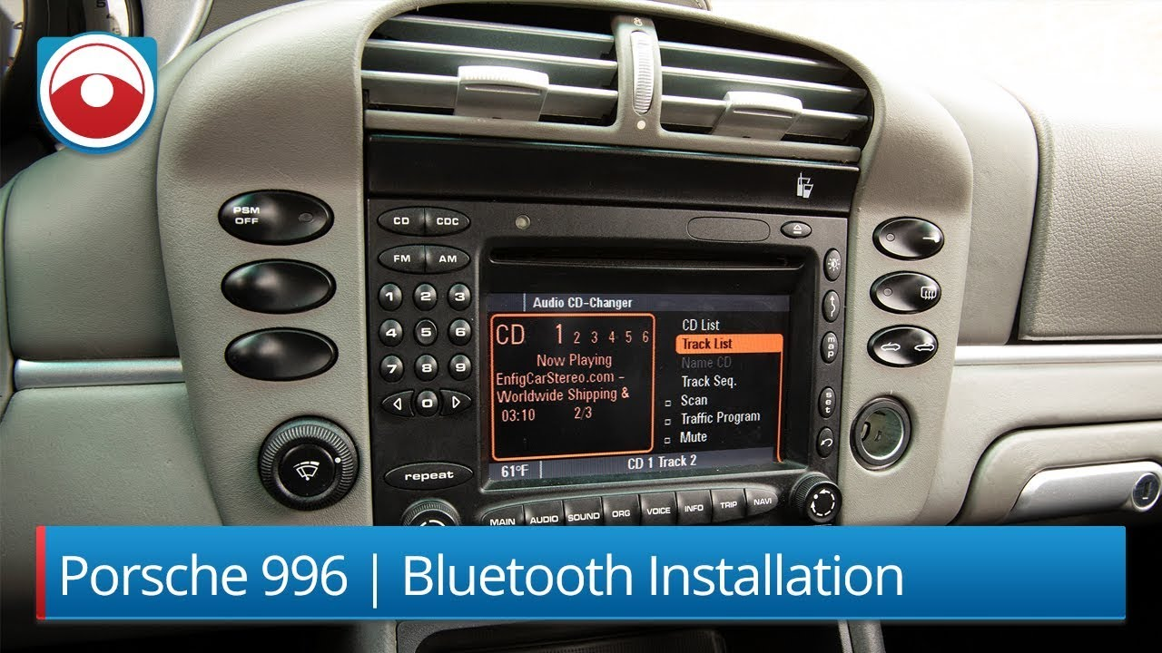 porsche 911 996 bluetooth usb aux installation dension gw52mo1 [ 1280 x 720 Pixel ]