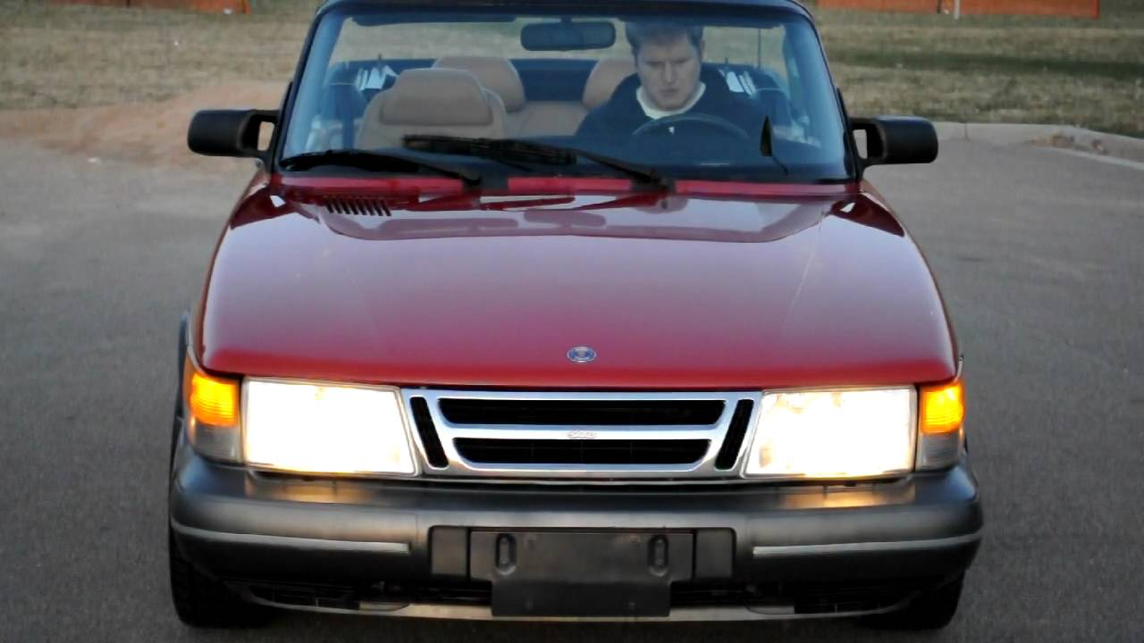 saab 900 turbo convertible for sale youtube. Black Bedroom Furniture Sets. Home Design Ideas