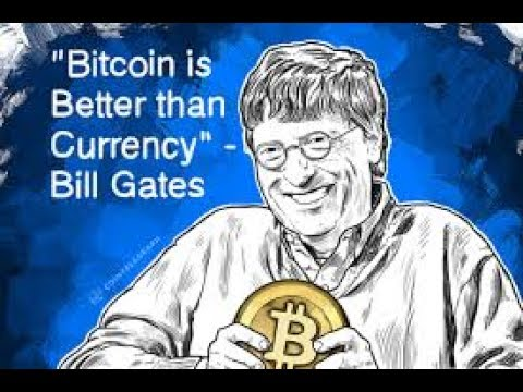 Bill Gates believes in Bitcoins and Ethereum.