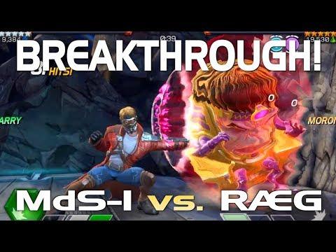 Final Season 4 AW & Full Medusa Boss Fight: MdS-1 Vs. RAEG (Path 6) | Marvel Contest Of Champions