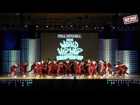 UP StreetDance Club - Philippines (MegaCrew Division) @ #HHI2016 World Semis!!
