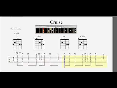 Guitar Chord Practice Cruise Tab Slow To Fast Play Along