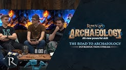 The Road to Archaeology Stream pt.1 - Introduction (March 2020)