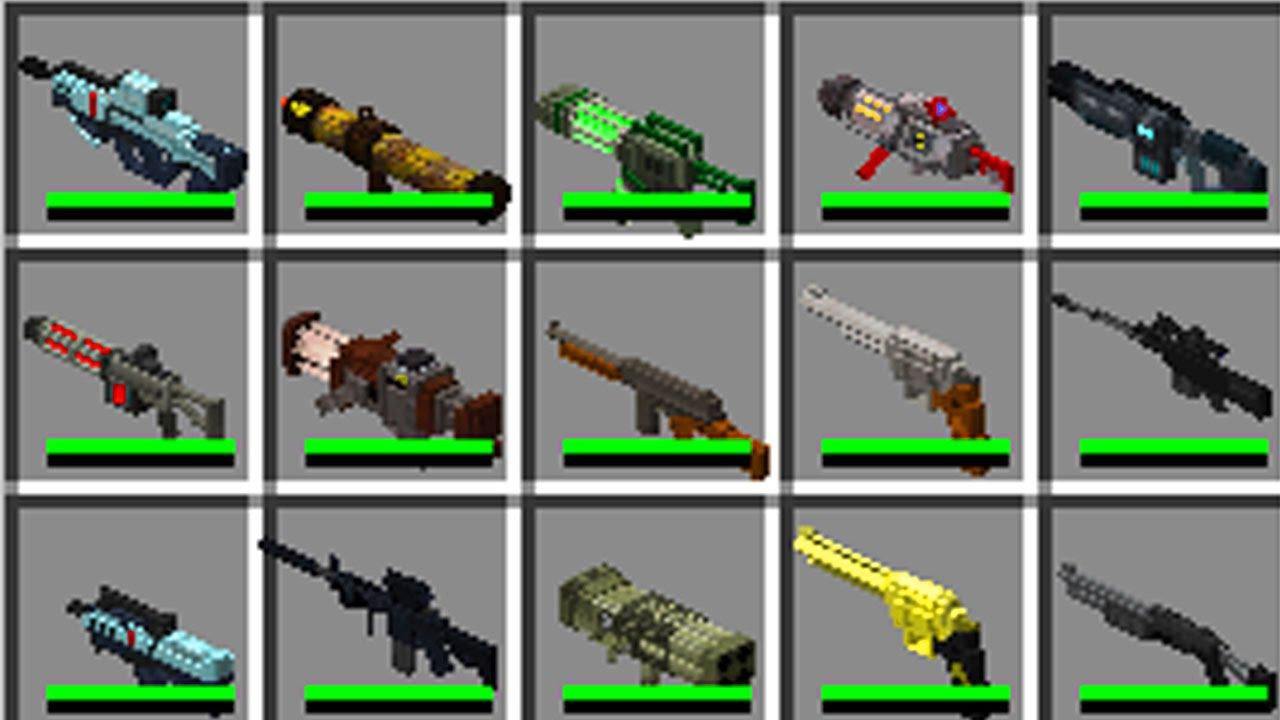 Download tech guns mod Techguns Mod