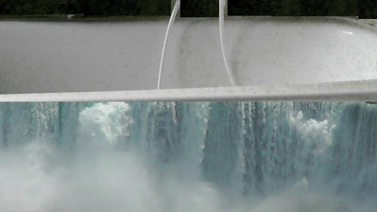 Niagaraflle Berlaufende Badewanne Erie See Niagara Falls Overflowing Bathtub On Lake Erie
