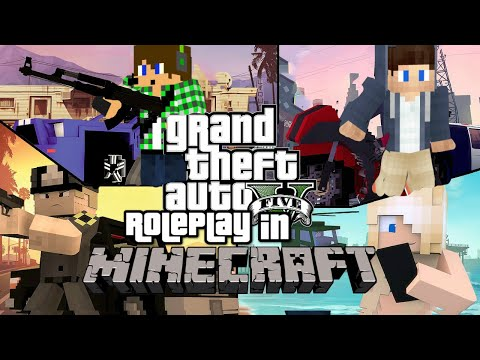 MINECRAFT - GRAND THEFT AUTO ROLEPLAY Ep.1 | New Opportunities