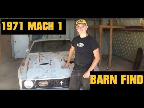 1971 Ford Mustang MACH 1-Barnfind Restoration Part 1
