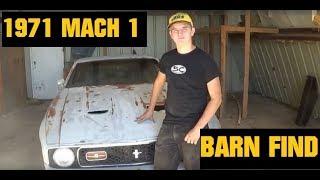1971 Ford Mustang MACH 1-Barnfind Restoration Part 1