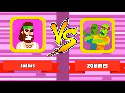 BOWMASTERS - Julius Vs. Zombies (iOS Gameplay, Walkthrough)