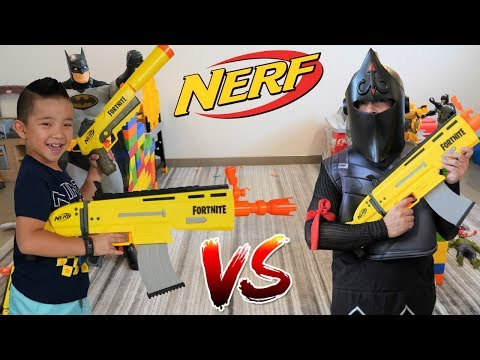 NERF Elite Fortnite AR-L Motorized Blaster Battle Fun With CKN Toys