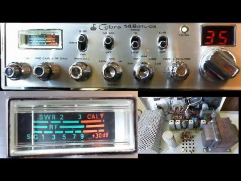 11meterdx Wagga Live Stream 6/2/2018 (27mHz Aussie CB radio) Cobra 148GTL-DX