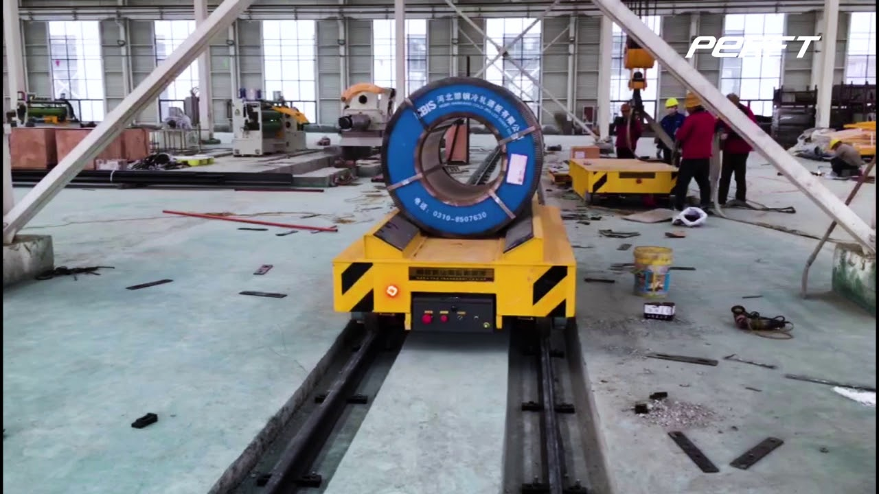 How to properly load electric crossbay bogie?