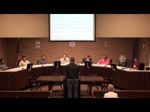City of Clinton, OK Council Meetings, July 7, 2015