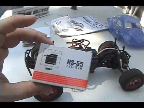 Losi Mini SCT Servo Upgrade