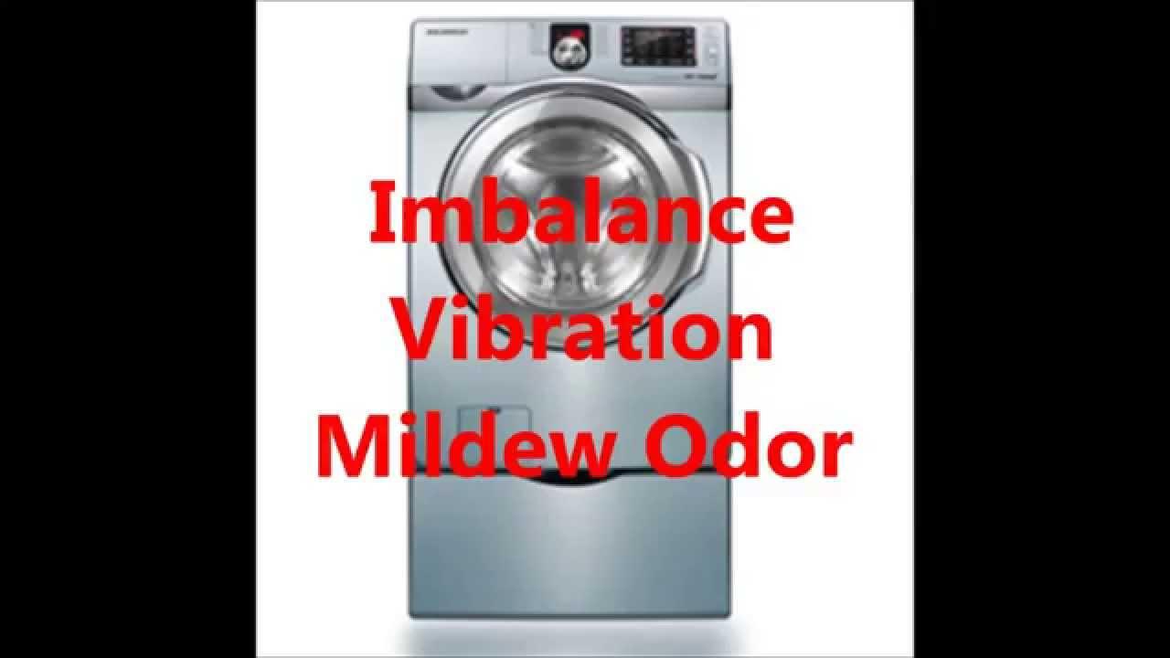 mildew washing machine odor