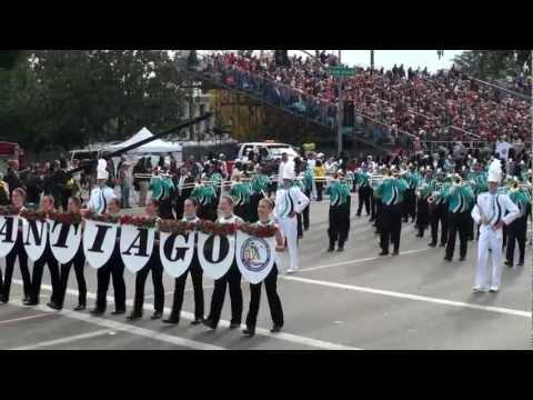 Santiago HS Marching Band & Color Guard - 2013 Pasadena Rose Parade