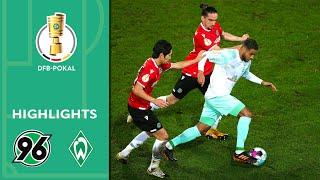 Hannover 96 - Werder Bremen 0:3 | Highlights | DFB-Pokal 2020/21 | 2. Runde