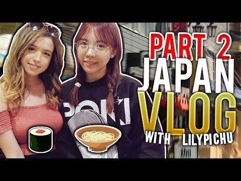 IRL Romance Dating Simulator & Tokyo Game Show w/ LilyPichu! JAPAN VLOG PART 2!