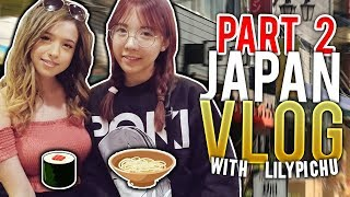 IRL Romance Dating Simulator & Tokyo Game Show w/ LilyPichu! JAPAN VLOG PART 2!