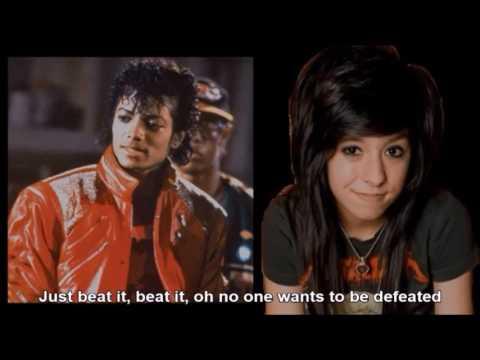 Christina Grimmie's Michael Jackson Cover Medley - Nightcore Edit With Lyrics